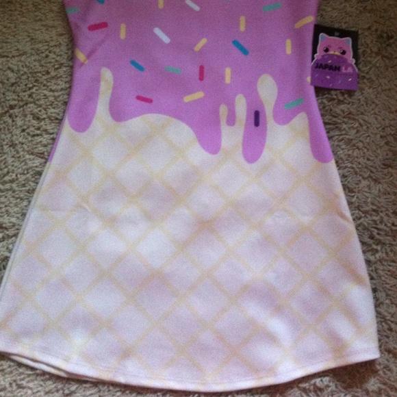 japanla Dresses - 💕🍦 HP 💕Nwt Japan La ice cream dress!🍦🍦