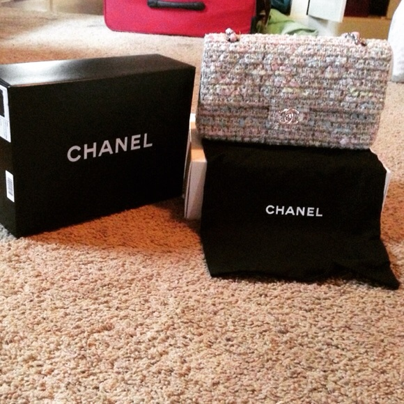 CHANEL - CHANEL 2.55 Tweed Bag from Misty's closet on Poshmark