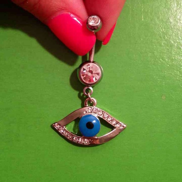 Evil Eye Belly Ring