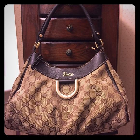 889e85555 Gucci Handbags - Sale💐AUTHENTIC GUCCI ABBEY D RING HOBO BAG💐