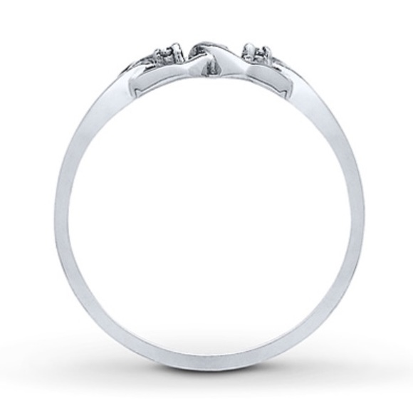 84% off Kay Jewelers Jewelry Reduced 💥💥 10k white gold promise ring from