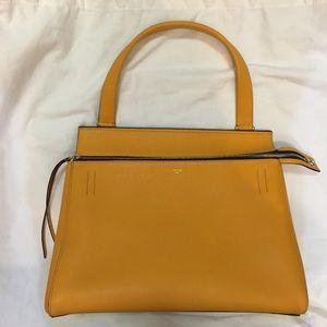 49% off Celine Handbags - Celine Edge bag (forest green/black ...
