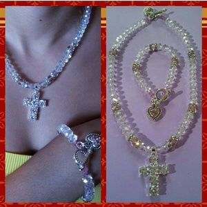 Jewelry - Necklace and Bracelet Set.