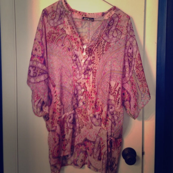 80 Off Apt 9 Tops Chiffon Dress Shirt From Kaitlin 39 S