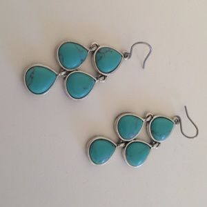 Lucky Beand turquoise earrings