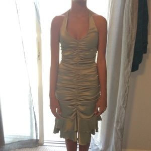 Rouched Cache evening dress
