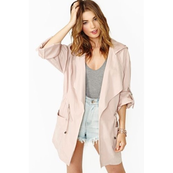 Nasty Gal - Nasty gal blush pink anorak from Joyce's closet on ...
