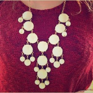 Ivory Bubble Necklace!
