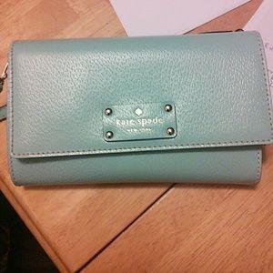 Kate Spade New York Tiffany Blue Crossbody bag