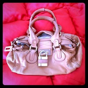 Chloe Paddington Bag First Edition in Light Brown