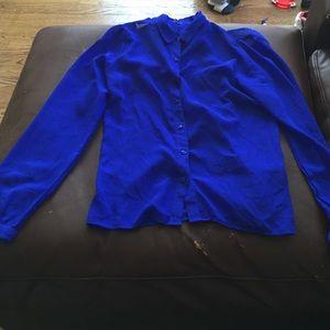 a7bdc7a756e Royal blue button down shirt