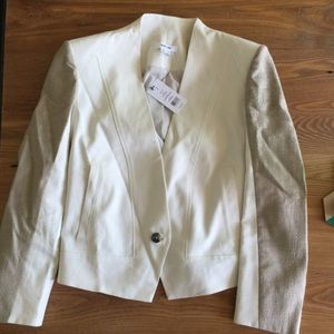 Helmut Lang Jackets & Blazers - NEW! Helmet Lang Era jacket in newsprint shark
