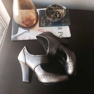 Anthropologie Shoes - Bronze Marry James