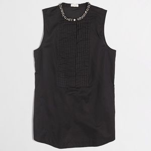 J. Crew Tops - ️NWT J. Crew Black Jeweled Tank Top