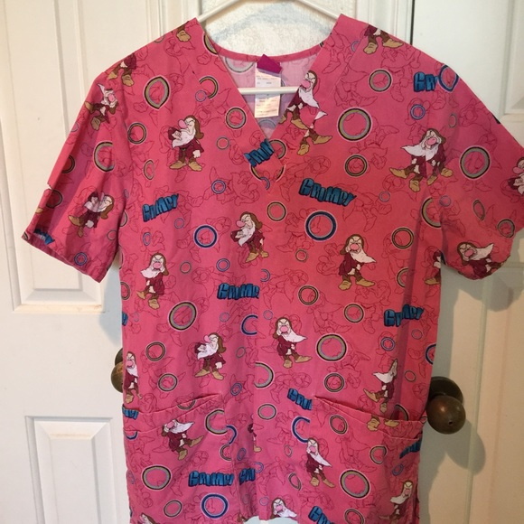 874c3ce1175 Tops | Disney Scrub Top | Poshmark