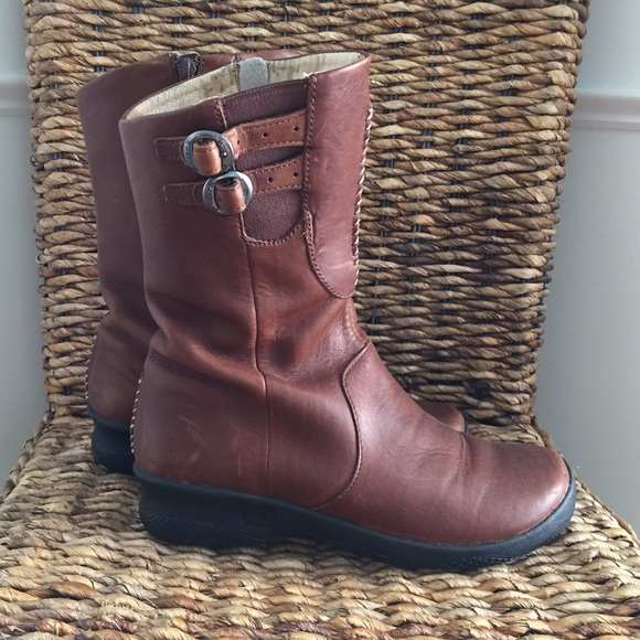 81 keen boots keen boots brown leather size
