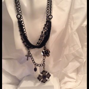 Jewelry - Black Goth Necklace