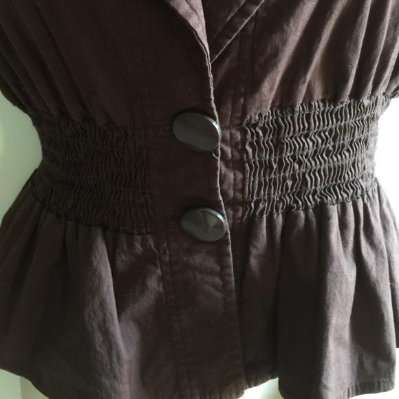 Wet Seal Jackets & Coats - Brown blazer