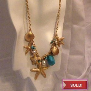 Jewelry - 🎋🎉SOLD🎋🎉 Under The Sea Charm Necklace Set