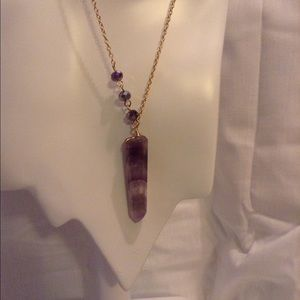 Jewelry - 🎉SOLD 🎉 Semi precious purple stone necklace