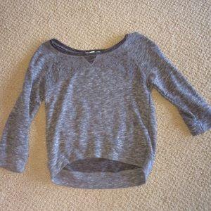 Derek Heart Grey Sweater