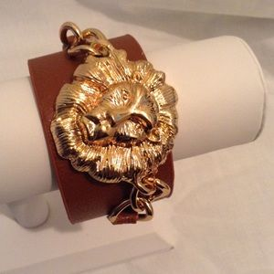 Jewelry - Lion Face Wrap Bracelet