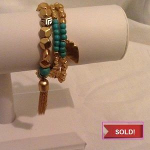 Jewelry - 🎋🎉SOLD🎋🎉 Multi Charm Bracelet