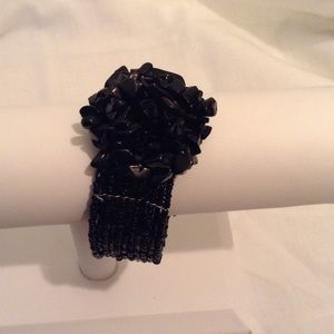 Jewelry - 🎉SOLD🎉 Gorgeous Black Bead Bracelet