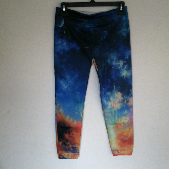 bf1f62a6b3a9c4 Rue21 Pants | Galaxy Leggings | Poshmark