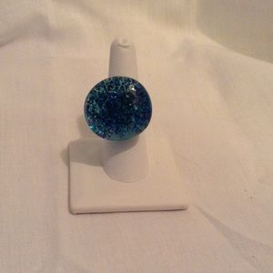 Jewelry - 🎉SOLD🎉 Blue Sparkly Ring