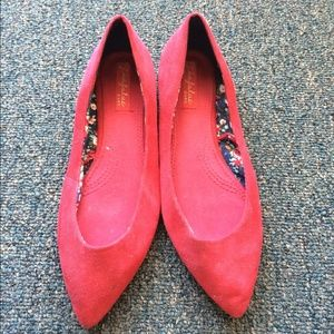ZARA red flats - like new condition
