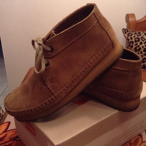 Mens Original Wallabee Clarks weaver boots