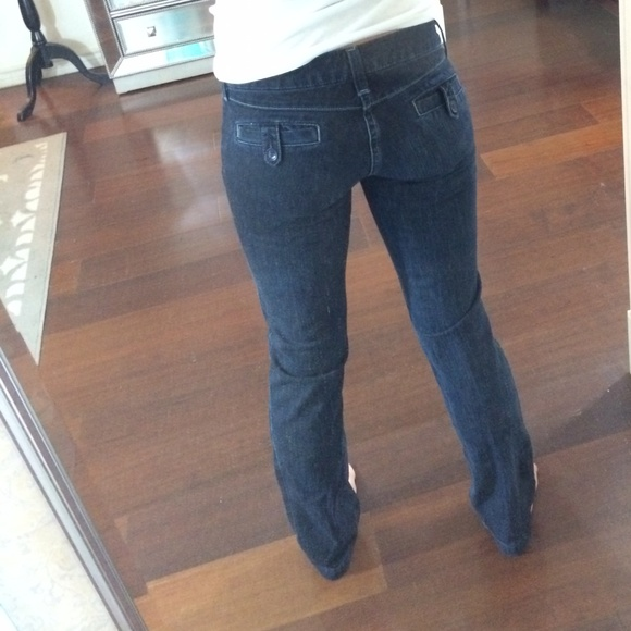 American Eagle Outfitters - American Eagle 77 Straight Jeans with front pocket from The snowy ...