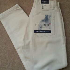 Vintage GUESS High Waisted Jeans Sz 27