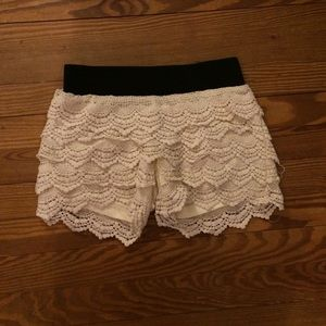 Pants - Lace Shorts from Tilly's