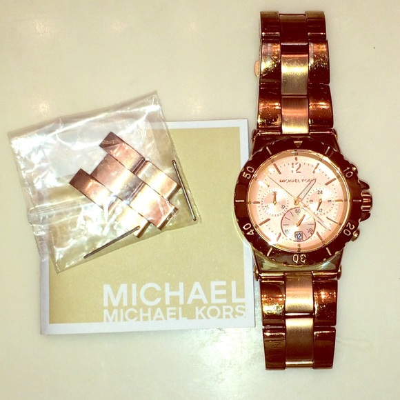 Michael Kors Jewelry Rose Gold Watch Mk5314 Poshmark