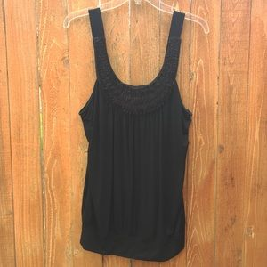bobeau Tops - Black Tank Top