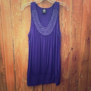 bobeau Tops - Purple Tank Top