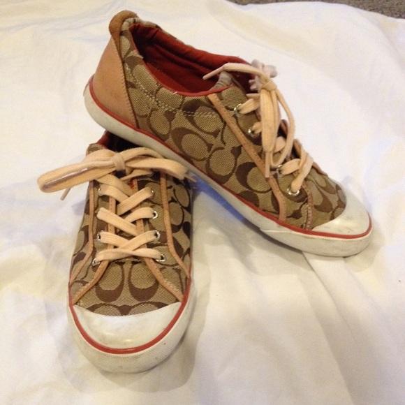 Coach Shoes   Coach Lace Up Shoes