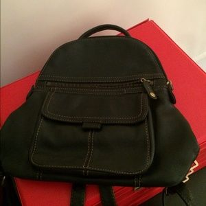 Fossil Handbags - Fossil leather backpack