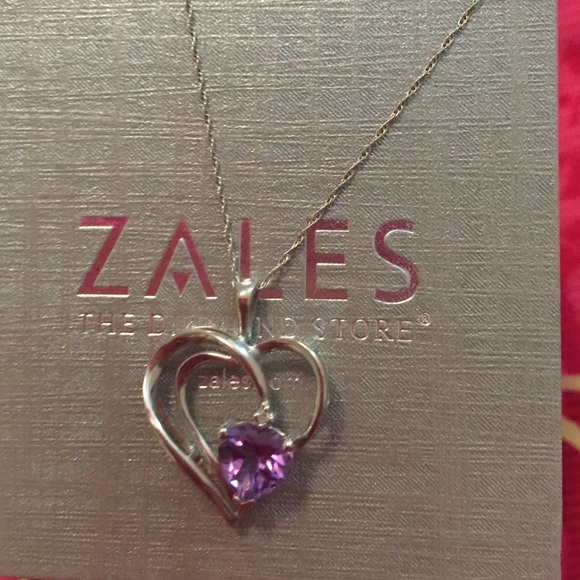 Zales Jewelry Necklaces >> 50% off Jewelry - A zales heart necklace from Jolin's closet on Poshmark
