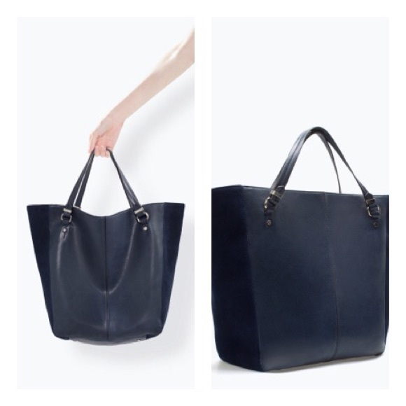Shopper Bag Zara Zara Bags Zara Soft Shopper