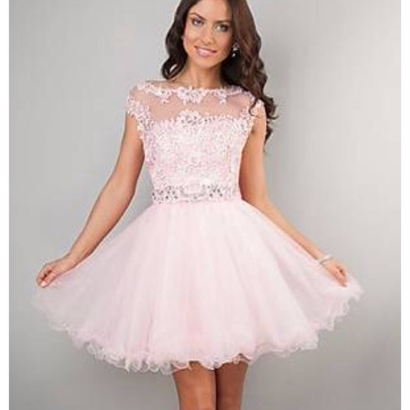 33% off Promgirl.com Dresses & Skirts - pink tutu prom dress ...