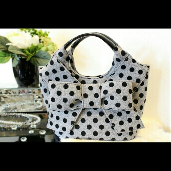 Kate spade kate spade polka dot purse from ninis closet on poshmark kate spade polka dot purse junglespirit Gallery