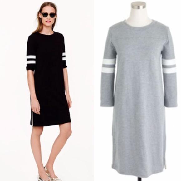 acb415007ba J. Crew Dresses   Skirts - J. Crew gray side-zip varsity dress