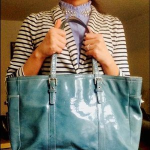 Huge Sale! Host Pick! Coach Leather Tote
