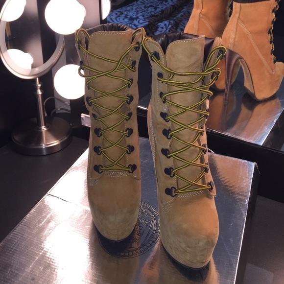 zigi timberland heels for ladies