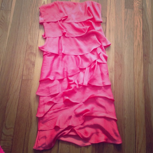 8efdd7e7e3831 BCBG Dresses | Maxazria Florence Coral Reef Dress | Poshmark