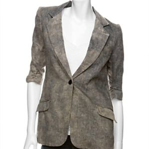 Elizabeth and James size 6 blazer