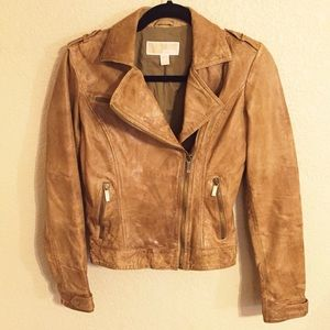 MICHAEL Michael Kors Jackets & Blazers - ❗️SALE❗️Michael Kors Distressed Leather Jacket